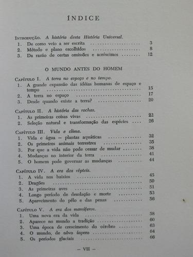 livro - historia universal vol 1º - h. g. wells -