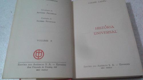 livro historia universal - volume 10 - cesare cantú