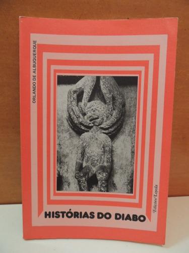 livro histórias do diabo orlando de albuquerque