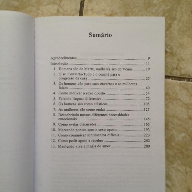 Livro Homens São De Marte Mulheres São De Venus - John Gray - R ...