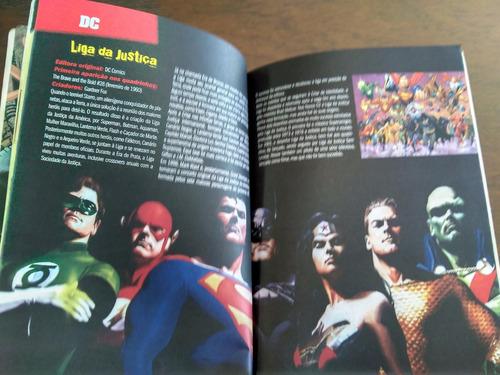 livro hq 101 super-heróis comics dc marvel frete gratis bx3#