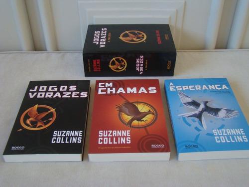 livro / hq - jogos vorazes - a trilogia