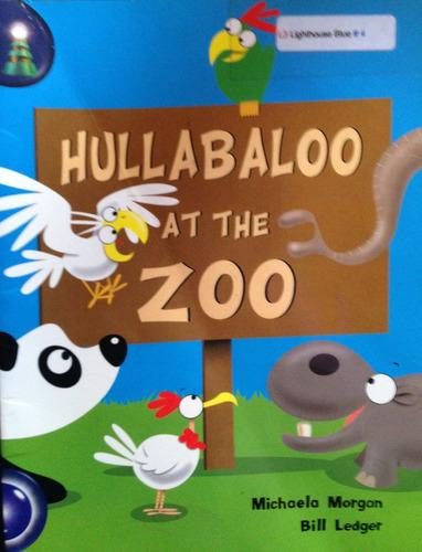 livro - hullabaloo at the zoo