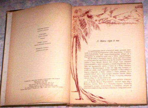 livro húngaro 1955 mátra