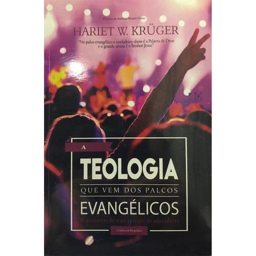 livro h.w.krueger - a teologia que vem d/palcos evangélic.