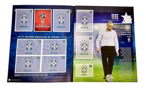 livro ilustrado seleção brasileira rumo à copa russia 2018