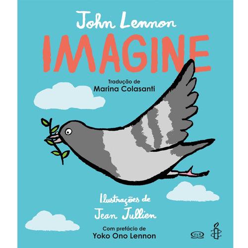 livro imagine john lennon - v&r editora