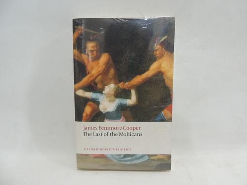 livro importado o último dos moicanos