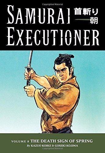 livro importado samurai executor vol. 08: o sinal da morte