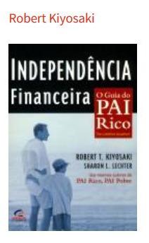 livro - independência financeira - robert kiyosaki