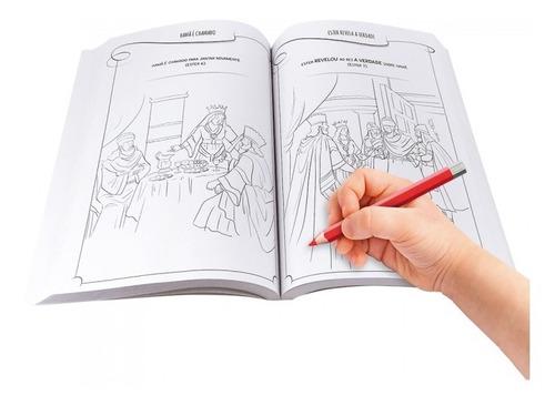 livro infantil 333 histórias da bíblia para colorir