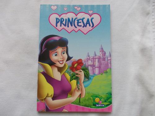 livro infantil 4 princesas - bela adormecida, branca de neve