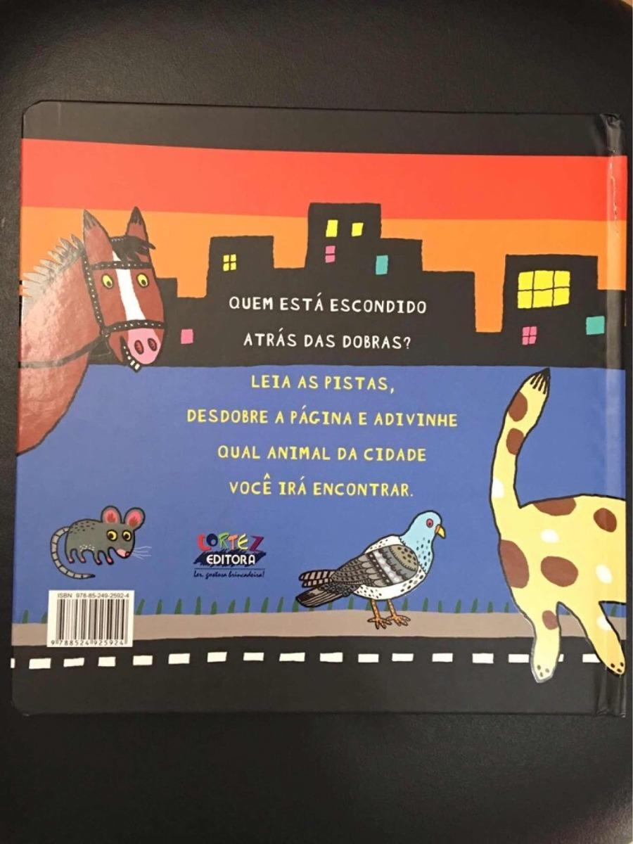 296c86ebf livro infantil animais da cidade dobra desdobra. Carregando zoom.