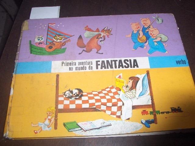 Livro Infantil Antigo Mundo Da Fantasia R 4000 Em Mercado Livre