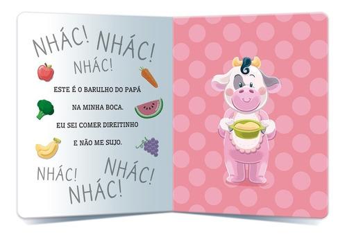 livro infantil bons hábitos leca comer como gente grande