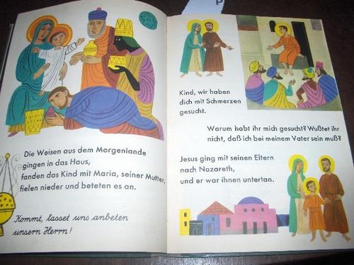 livro infantil católico ilustrado 1962 em alemão