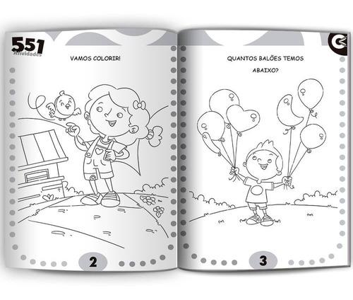livro infantil de atividades com 551 atividades oferta!!