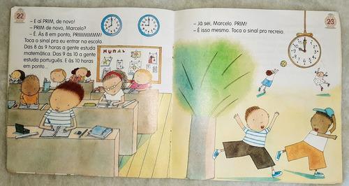 livro infantil ilustrado de hora em hora... de ruth rocha