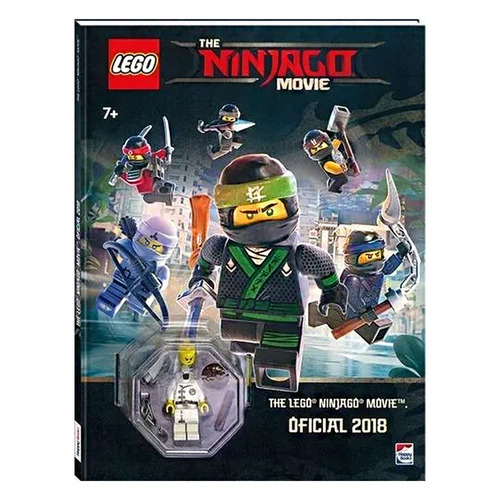 livro infantil - lego - the ninjago - filme 2018 - happy boo