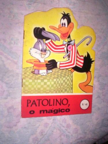 livro infantil patolino o magico  1966