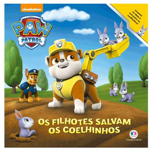livro infantil - patrulha canina - os filhotes salvam os coe
