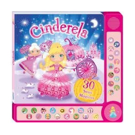 Livro Infantil Sons Mágicos Ii - Cinderela