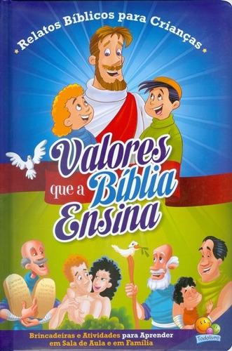 livro infantil - valores que a bíblia ensina