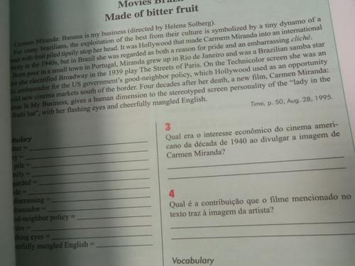 livro inglês ensino