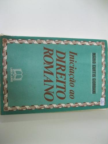 livro  = iniciação ao  direito romano