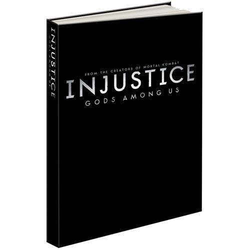livro injustice: gods among us collector's edition ps3 xbox