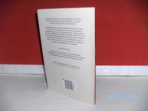 livro inquisitorial poemas josé carlos capinan/1995- 98 págs