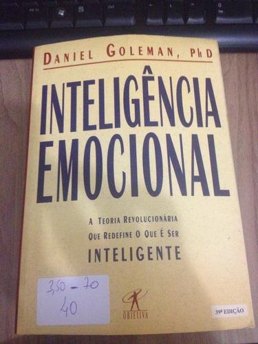 livro inteligência emocional- daniel goleman