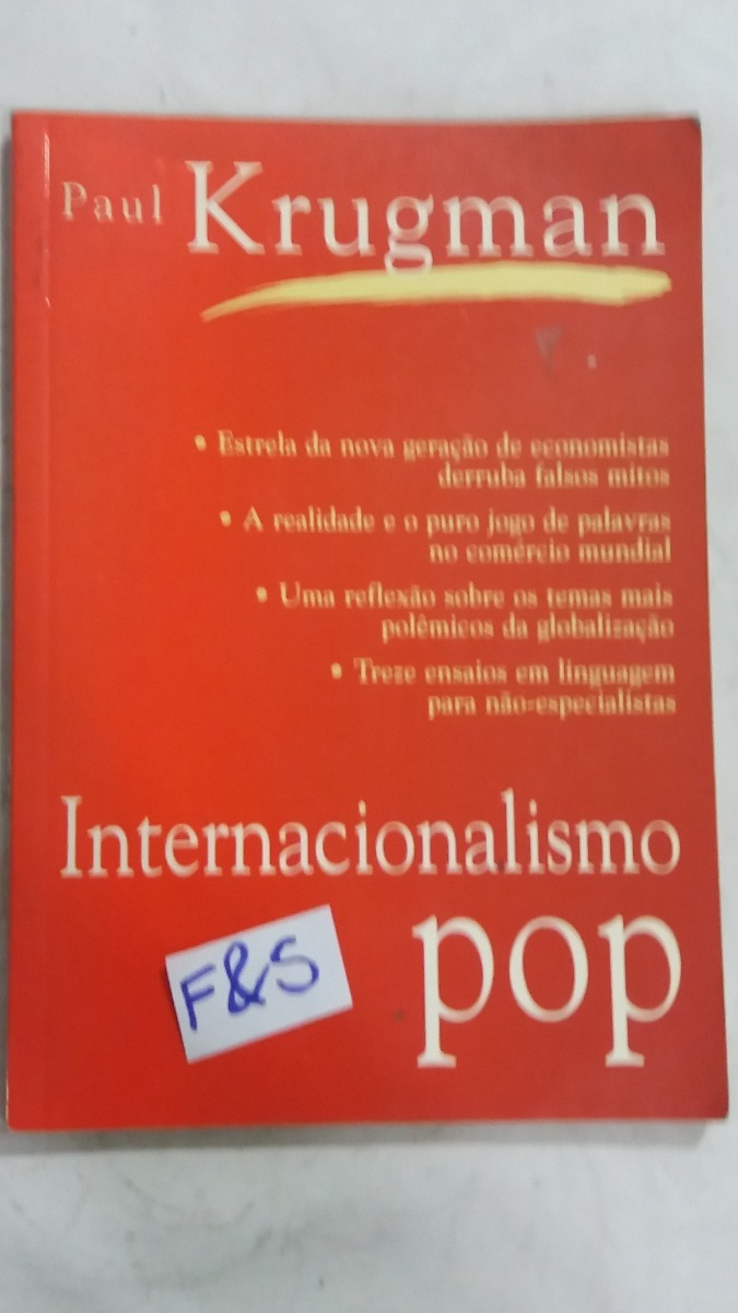 internacionalismo pop paul krugman