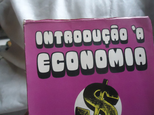 livro introdução a economia - ano 1976 ed. zahar