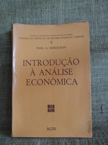 livro introdução à análise econômica paul a. samuelson vol 2