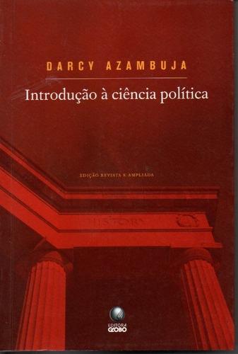 livro introdução à ciência política de darcy azambuja