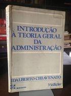 livro introdução à teoria geral da administração