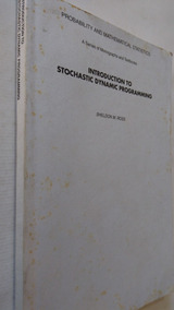 Livro Introduction To Stochastic Dynamic Programming - Disx