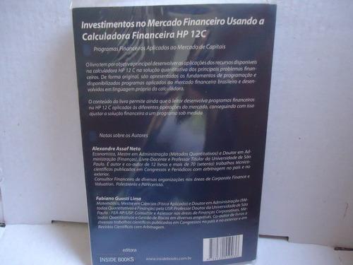 livro investimentos no mercado financeira calculadora hp 12c