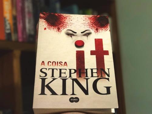 livro it a coisa livro stephen king suspense terror