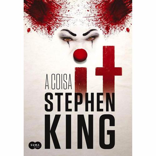 livro it a coisa + o pistoleiro + mr mercedes - stephen king