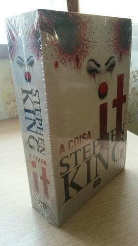 livro it a coisa stephen king + ed e lorraine demonologistas