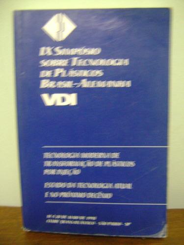 livro ix simpósio tecnologia plásticos brasil-alemanha