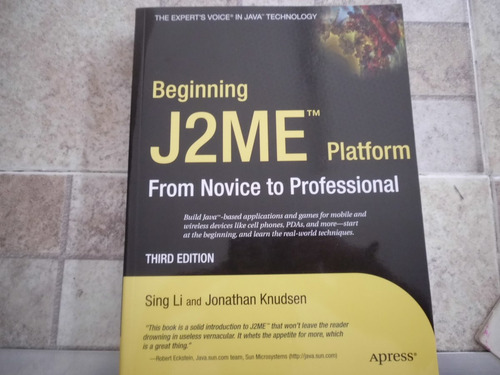 livro j2me platform