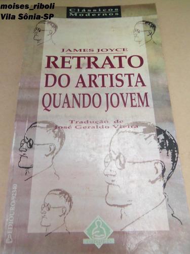 livro james joyce retratos do artista quando jovem a4