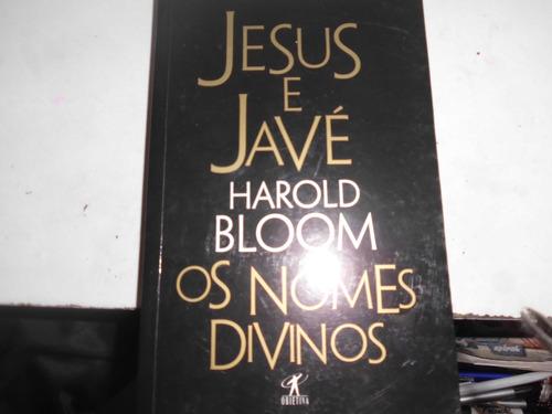 livro jesus e javé os nomes divinos