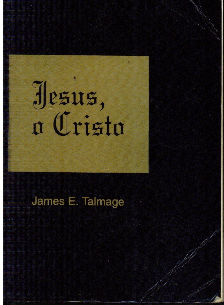 livro jesus o cristo de james e talmage