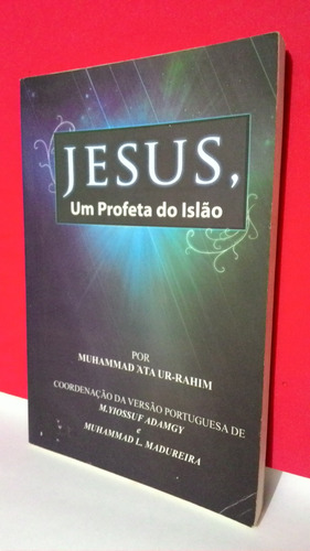 livro jesus, um profeta do islão - muhammad - frete grátis