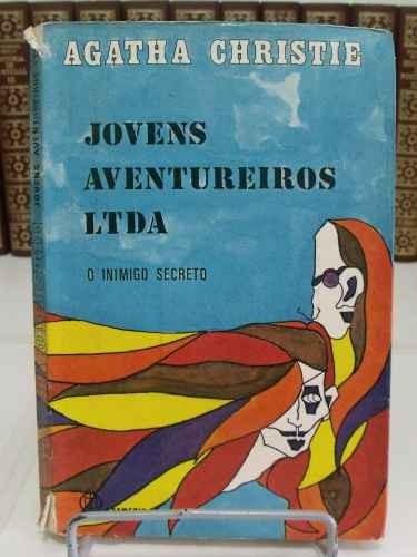 livro jovens aventureiros ltda - o inimigo secreto