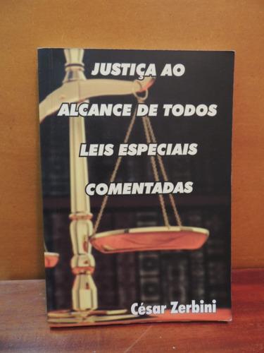 livro justiça ao alcance de todos leis especiais comentadas
